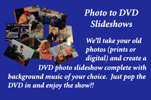 Photo to DVD Slideshows by Peach State Digital